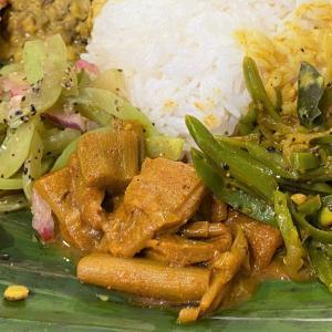 はすいも、芋茎のカリー @ シャンティランカ Shanthi Lanka (宝塚市)