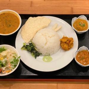 ネパール定食 @ SHERPA シェルパ ネパール料理レストラン (神戸市中央区)