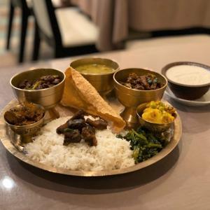金時豆のタルカリ ラジマ コ タルカリ @ ネパールのごちそう jujudhau ズーズーダゥ (池田市)