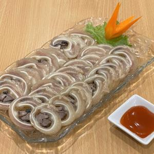 豚の耳でくるくる肉巻き TAI LON CUON TIEU @ ロックちゃん BAO LOC QUAN (神戸市兵庫区)