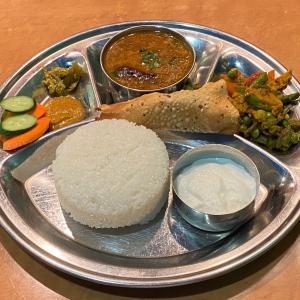 ダルバート @ インド・ネパール料理 Dhaulagiri ダウラギリ 神戸元町店 (神戸市中央区)