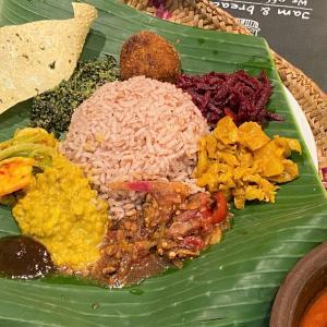 茄子のサラダ @ シャンティランカ Shanthi Lanka (宝塚市)