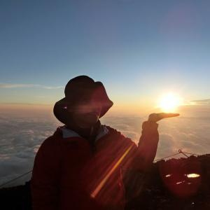 富士山登って来ました!宇宙の調整と最善への導き♪