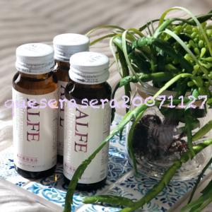 アルフェ ホワイトプログラム ・ 贅沢美容成分を1本に凝縮した美容ドリンク ✧