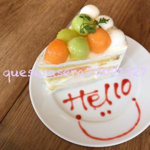 豊洲〔RHCカフェ〕 濃厚ボロネーズとフレッシュメロンケーキ ☼