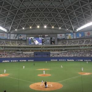 """中日-阪神 マスクを外して「浦和レッズ」と連呼の観客が""""退場""""に"""