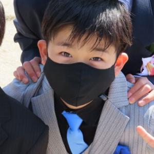息子、小学校卒業