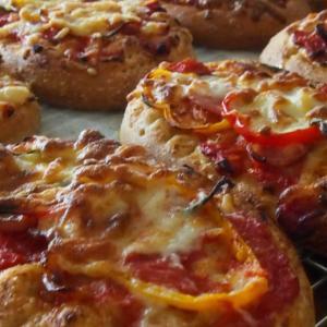 パンの様なピザ