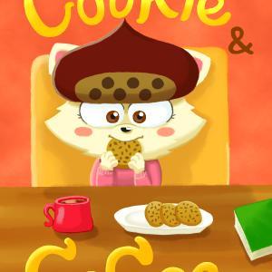 ○イラスト:ぐりちゃんとクッキー&ココア