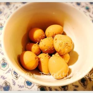 簡単で美味しいジャンチョリム(うずら卵の醤油煮)@在宅ワーク暇です