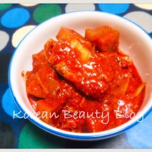 韓国の激ウマ太刀魚料理を作る@カルチジョリム(갈치조림)