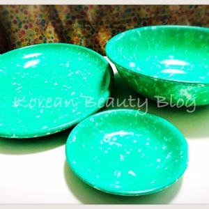 レトロブームな韓国マーブル屋台皿をポチる