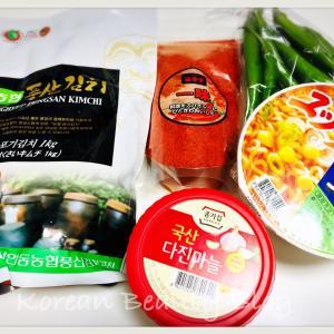 韓国スーパー購入品