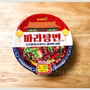 麻辣湯カップ麺@コリアデパート購入品