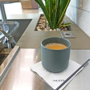 【韓国・ソウル(女一人旅)】ミルクティーが有名なカフェ!汝矣島(ヨイド)にあるカフェ・チンジョンソン(2019年10月)