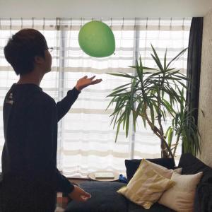 【休校中の過ごし方】大人も中学生もたのしめる「風船運動」
