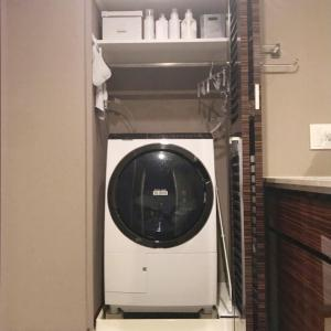 【自宅収納】色を統一してスッキリシンプルに◎洗濯機周りの収納法