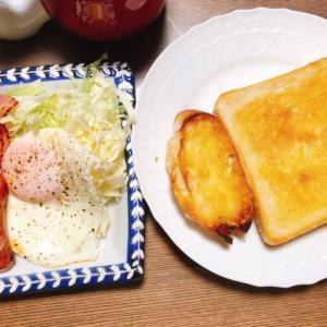 朝ごはんとお昼ご飯
