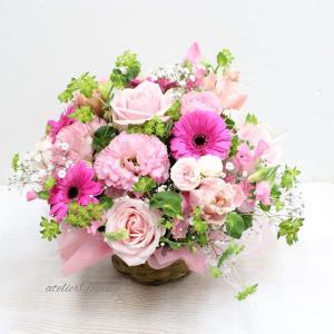 【年度末でお花のお届けがいっぱい➁】