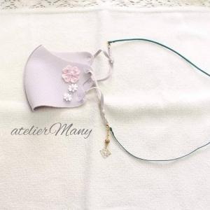 【マスクに装着するネックレス~本皮】