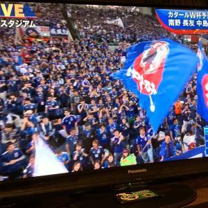 サッカー日本代表戦をテレビ中継
