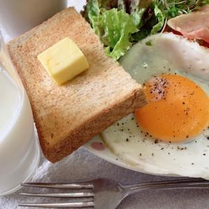 朝ごはんと今日のお弁当
