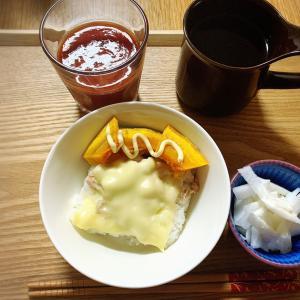 11月25日 49.5kg  ニラ野菜定食とGODIVAパフェ