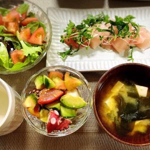 9月20日 47.7kg  野菜たっぷり夕食