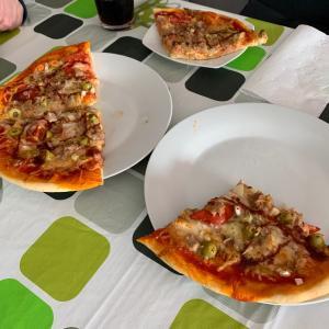 そしてピザ