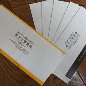 日本マクドナルドホールディングスより優待が届きました(2020年6月度優待)