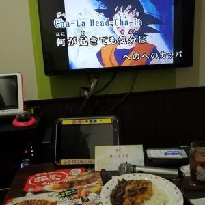 『カラオケまねきねこ』でゴーゴーカレーを食べながらヒトカラ