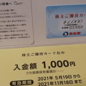西松屋チェーンより優待が届きました(2021年2月度優待品)