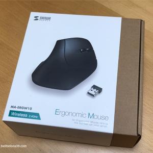 【PC作業】手首や小指の痛み・疲れを軽減するエルゴマウスを購入
