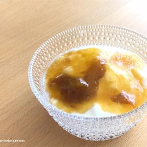 南高梅と白砂糖で、黄金色の梅ジャム~