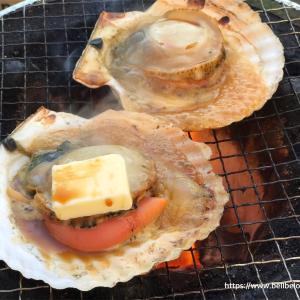 よいお天気の下、今年最初のお庭で焼き肉〜