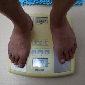 BMIが25近くになった。
