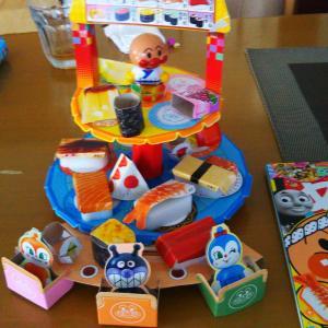 孫の留守間に ちと、おもちゃを作る