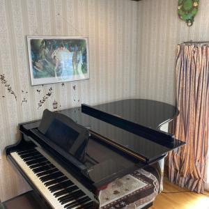 年に一度のピアノの調律