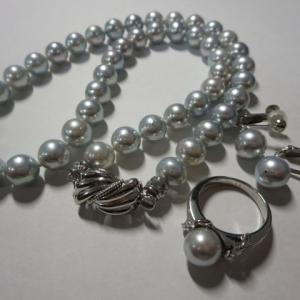 高価買取!パール ネックレス 指輪 貴金属 18金 K18