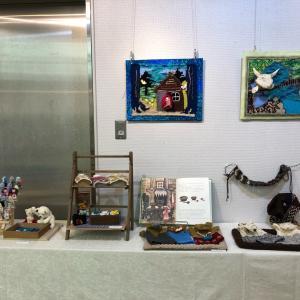 霞ケ丘技芸学院展示会終了しました。