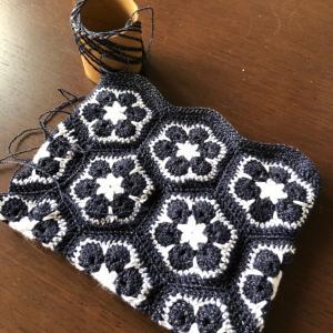 縁編み足りた。