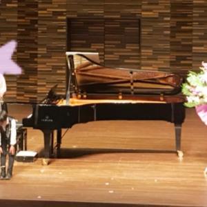 姉弟のピアノ発表会