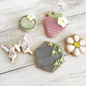 【レッスンレポ】Spring アイシングクッキー体験