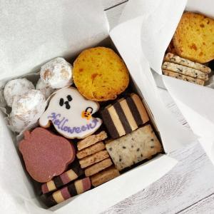 【レッスンレポ】秋バージョンのクッキー缶
