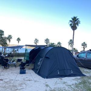 冬なのに常夏キャンプ