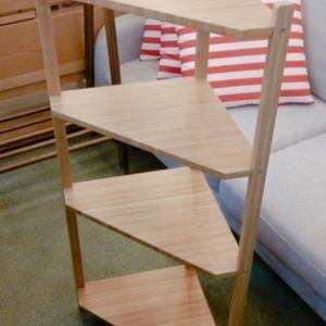 ♻️家具♻️IKEA コーナーラック♻️IKEA スリムラック♻️木製 ハンガーラック