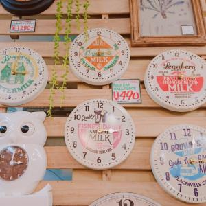 ♻️雑貨♻️ミルクキャップ時計♻️ふくろう時計♻️小鳥小物入れ♻️ロールフック