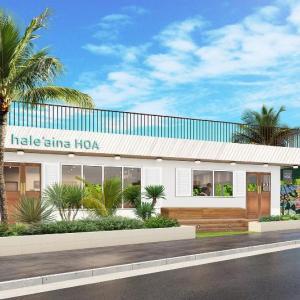 恩納村にオールデイハワイアンカフェ「hale'aina HOA (ハレアイナ・ホア)」オープン
