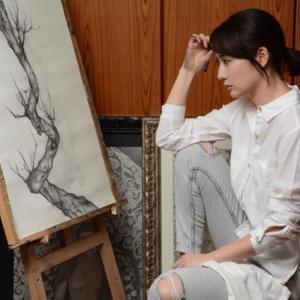 沖縄市出身の画家 翁長結生乃個展「35観音展VOL.1」開催