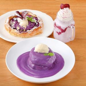 オリジナルパンケーキハウスが沖縄県産 紅いもを贅沢に使用したパンケーキを発売